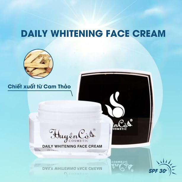 DAILY WHITENING FACE CREAM - KEM FACE NGÀY